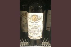Отзыв о вине Chateau Haut Florin
