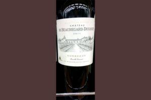 Отзыв о вине Chateau de Beauregard-Ducourt