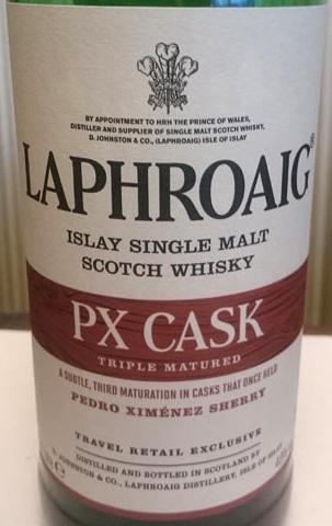Laphroaig_PX-cask_label