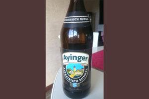 Отзыв о пиве Ayinger altbairisch dunkel