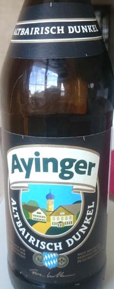 Ayinger_dunkel_label
