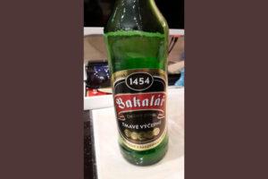Отзыв о пиве Bakalar tmave