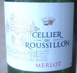 Cellier_du_Roussillon_Merlot_label