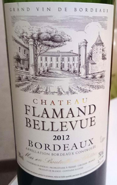 Chateau_Flamand_Bellevue_label