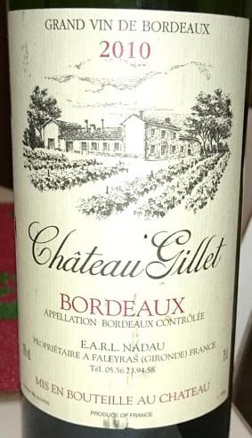 Chateau_Gillet_label