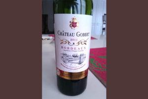 Отзыв о вине Chateau Gobert