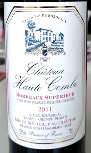 Chateau_Haut_Combe_label