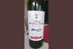 Отзыв о вине Chateau Moulin de la Hargue