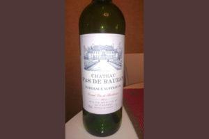 Отзыв о вине Chateau Pas de Rauzan
