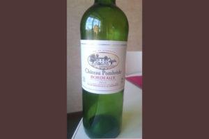 Отзыв о вине Chateau Pombrede