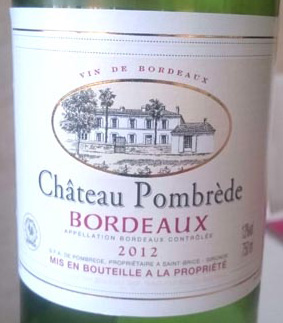 Chateau_Pombrede_label
