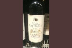 Отзыв о вине Chateau Raynaldy