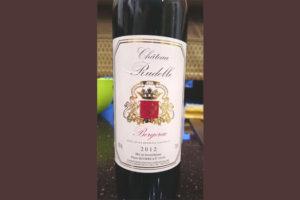 Отзыв о вине Chateau Rudelle