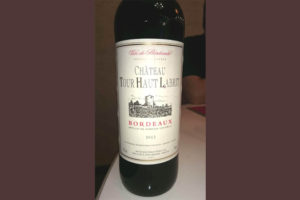 Отзыв о вине Chateau Tour Haut Labrit
