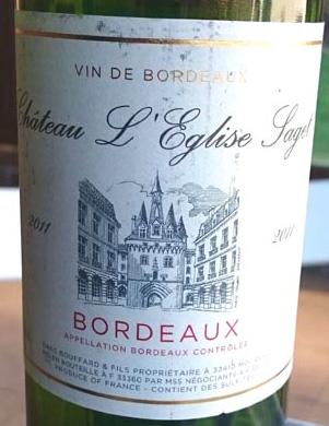 Chateau_l'Eglise_Laget_label