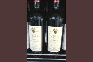 Отзыв о вине Chateau la Foret
