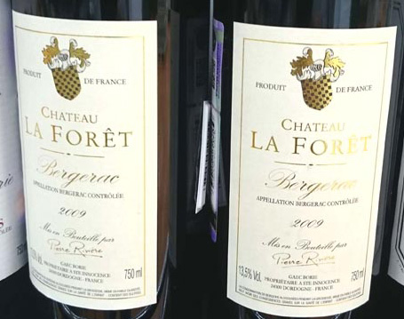 Chateau_la_Foret_label