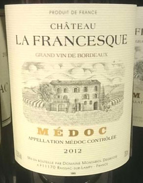 Chateau_la_Francesque_label