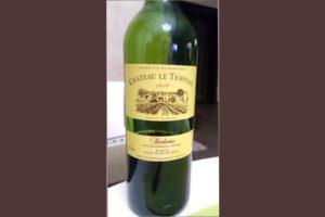 Отзыв о вине Chateau le Templey
