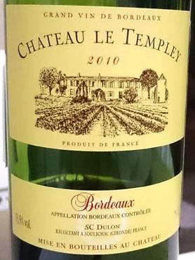 Chateau_le_Templey_label