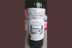 Отзыв о вине Chateau les Alberts