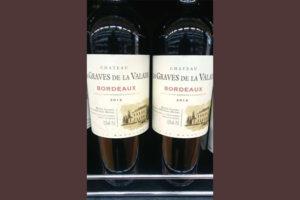 Отзыв о вине Chateau les Graves de la Valade