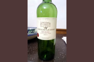 Отзыв о вине Chevalier Lacassan