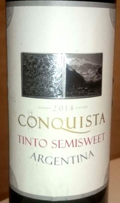 Conquista_Tinto_semisweet_label