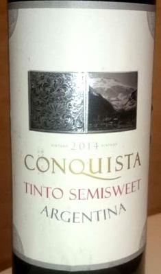 Conquista_Tinto_semisweet_label