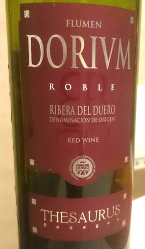 Dorivm_roble_2010_label