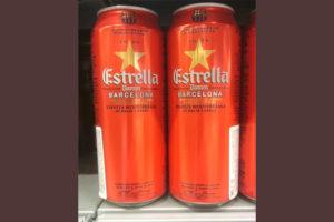 Отзыв о пиве Estrella damm