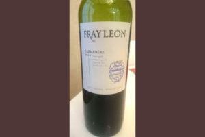 Отзыв о вине Fray Leon carmenere