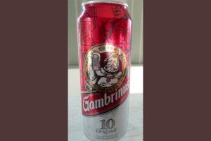 Отзыв о пиве Gambrinus svetle premium