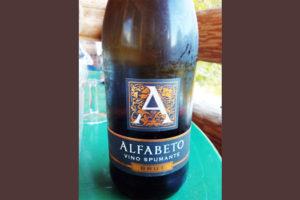 Отзыв об игристом вине Alfabeto spumante brut