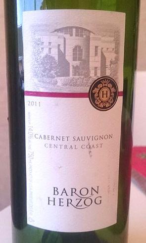 Baron_Herzog_Cabernet_sauvignon_label