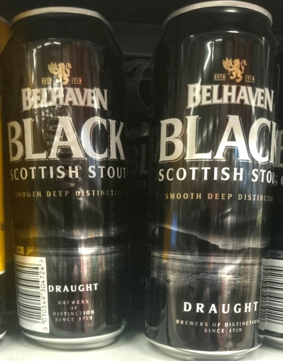 Belhaven_Black_scottish_stout_label