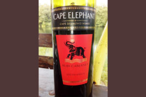 Отзыв о вине Cape Elefant Ruby Cabernet