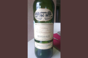 Отзыв о вине Chateau Jean de Marceau