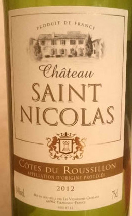 Chateau_Saint_Nicokas_2012_label