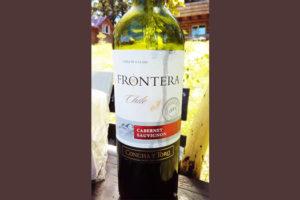 Отзыв о вине Frontera cabernet sauvignon 2014