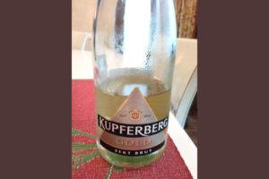 Отзыв об игристом вине Kupferberg gold sekt brut 2014