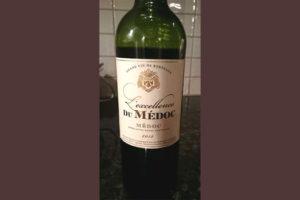 Отзыв о вине L'Excellence du Medoc 2012