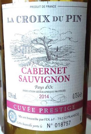 La_Croix_du_Pin_Cabernet-sauvignon_label