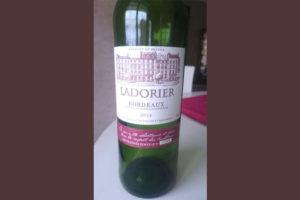 Отзыв о вине Ladorier 2014