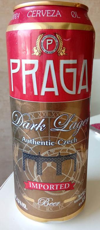 Praga_Dark_lager_label