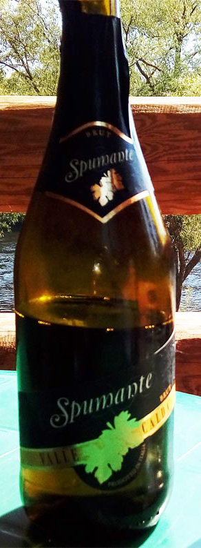 Valle_Caldo_spumante_brut_label
