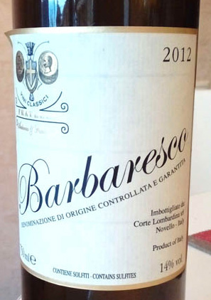 Barbaresco_Fratelli_2012_label