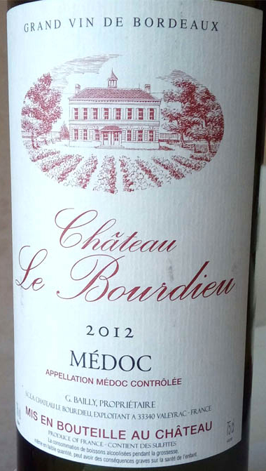 Chateau_le_Bourdieu_2012_label