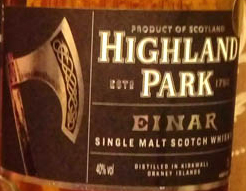Highland_Park_Einar_label