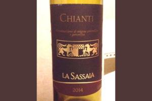 Отзыв о вине La Sassaia chianti 2014